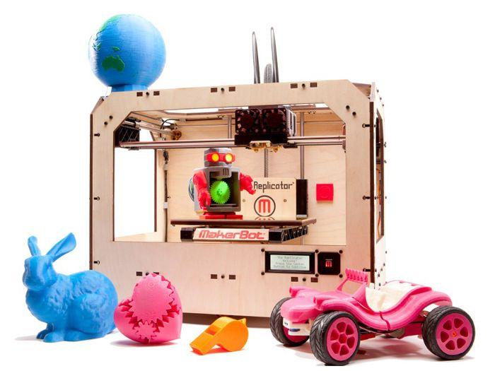 Makerbot Replicator Dual Extrusion 2 Color Printing Seeed Studio