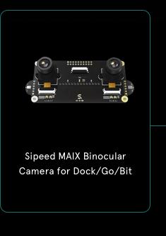 Sipeed MAIX Binocular Camera for Dock/Go/Bit